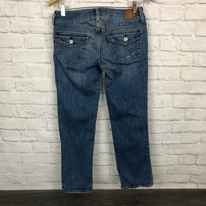 American Eagle Outfitters Jeans - American Eagle artist capri jeans